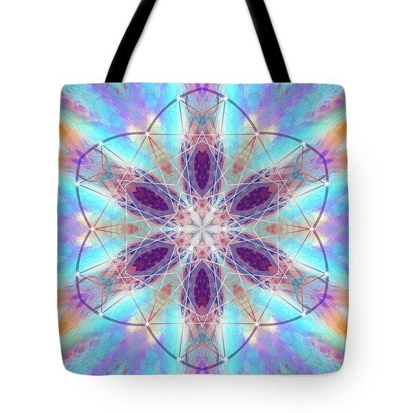 Tote Bag featuring the digital art Mystic Universe 6 Kk2 by Derek Gedney
