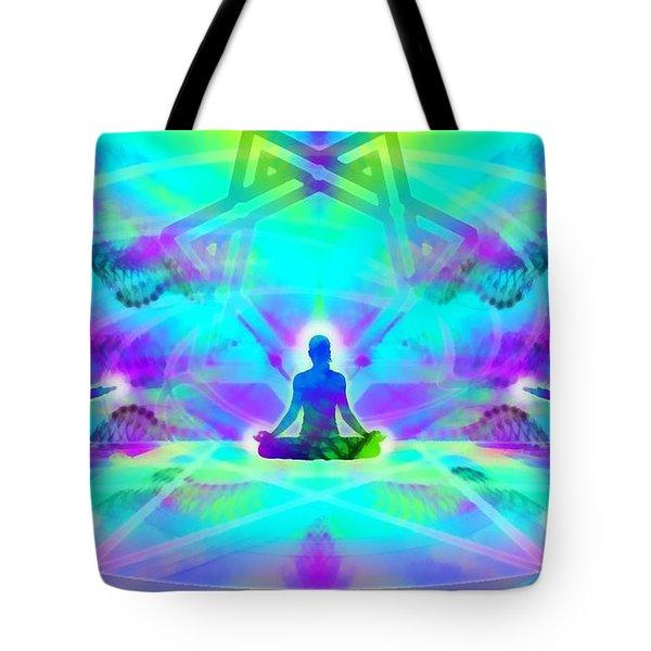 Tote Bag featuring the digital art Mystic Universe 8 by Derek Gedney