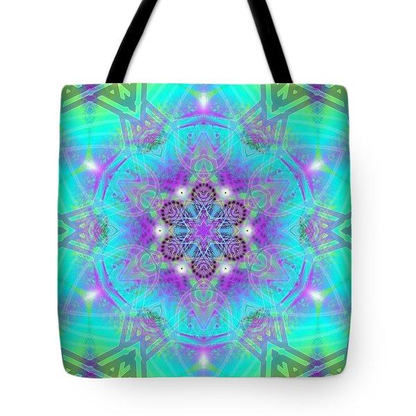 Tote Bag featuring the digital art Mystic Universe 8 Kk2 by Derek Gedney