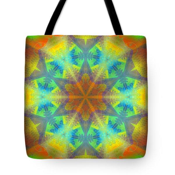 Tote Bag featuring the digital art Mystic Universe 9 Kk2 by Derek Gedney