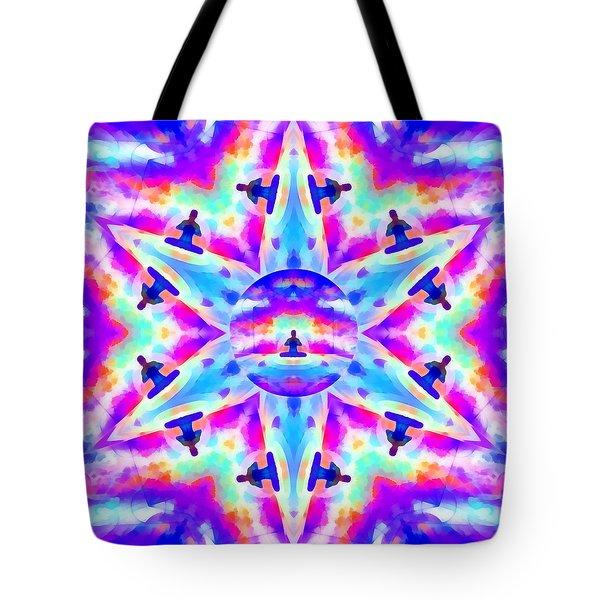Tote Bag featuring the digital art Mystic Universe Kk 10 by Derek Gedney