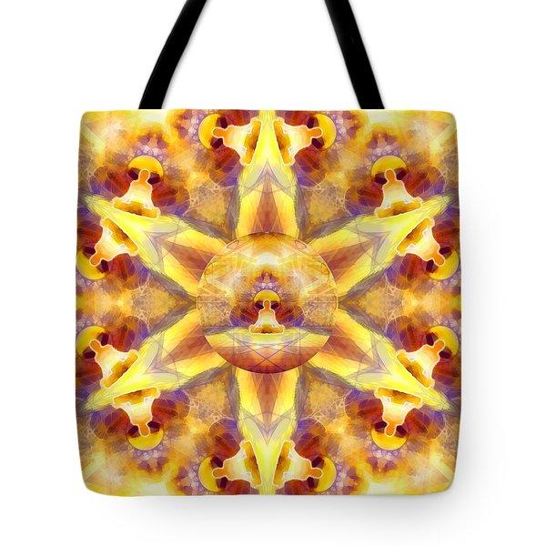 Tote Bag featuring the digital art Mystic Universe Kk 14 by Derek Gedney