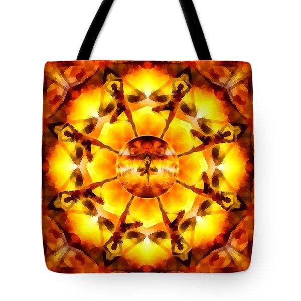 Tote Bag featuring the digital art Mystic Universe Kk 7 by Derek Gedney