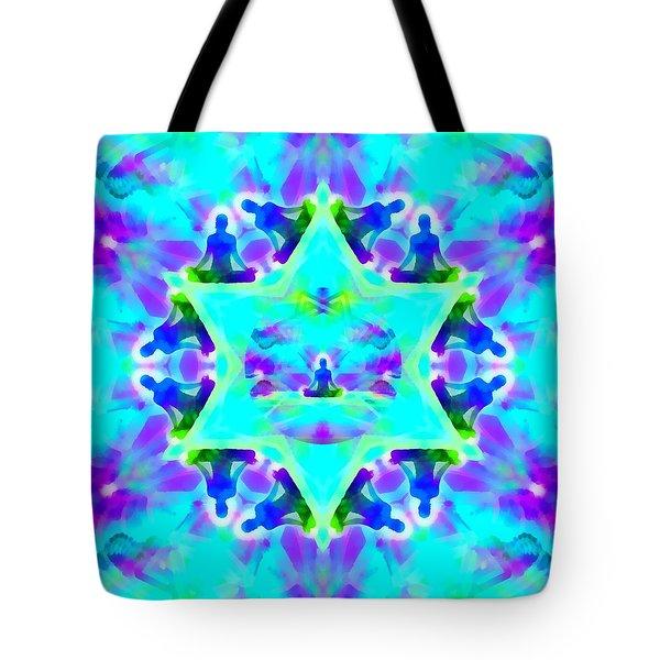 Tote Bag featuring the digital art Mystic Universe Kk 8 by Derek Gedney