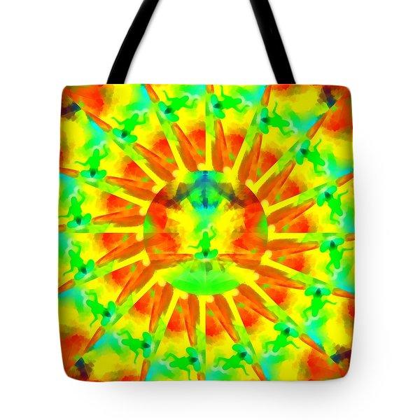 Tote Bag featuring the digital art Mystic Universe Kk 9 by Derek Gedney
