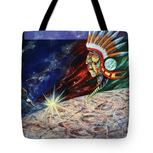 Mystic Warrior Tote Bag