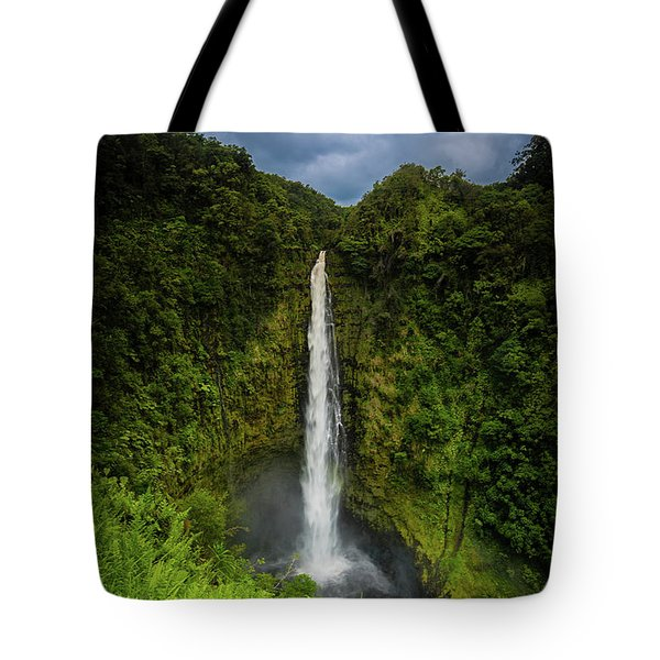 Mystic Waterfall Tote Bag