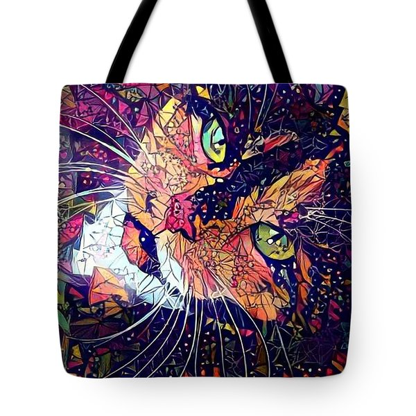 Mystical Calico  Tote Bag