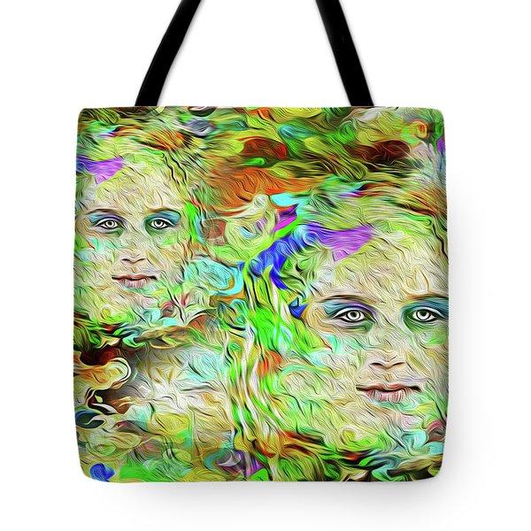Mystical Eyes Tote Bag