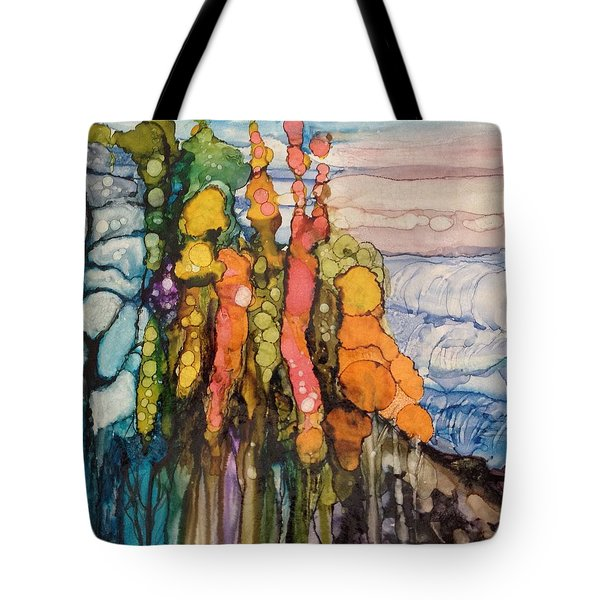Mystical Garden Tote Bag by Suzanne Canner