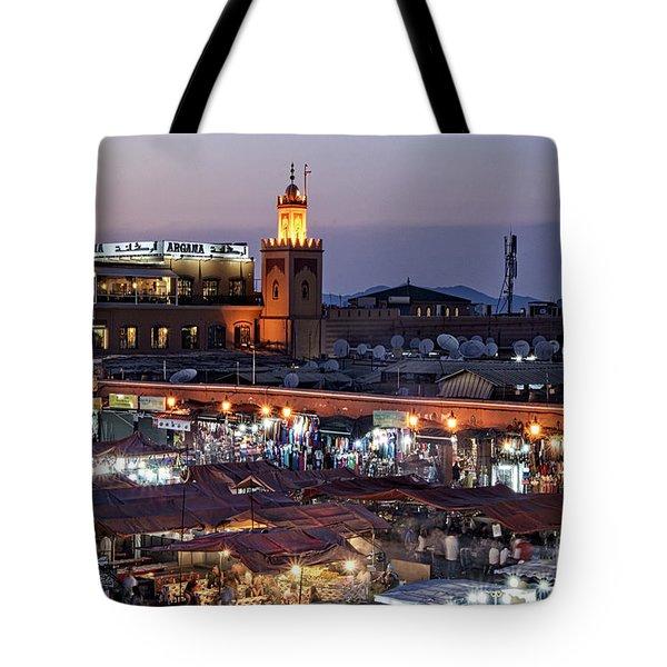 Mystical Marrakech Tote Bag