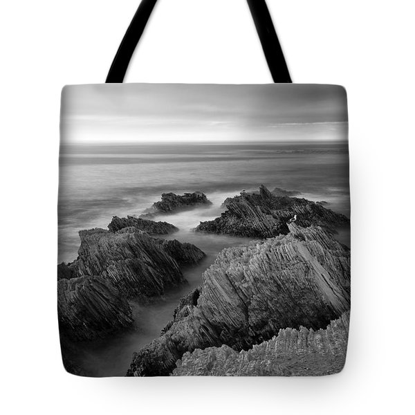 Mystical Moment Bw Tote Bag
