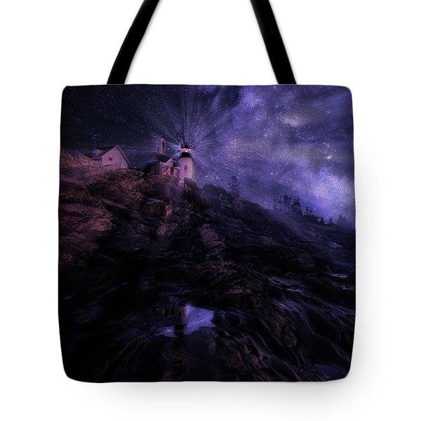 Mystical Pemaquid Tote Bag