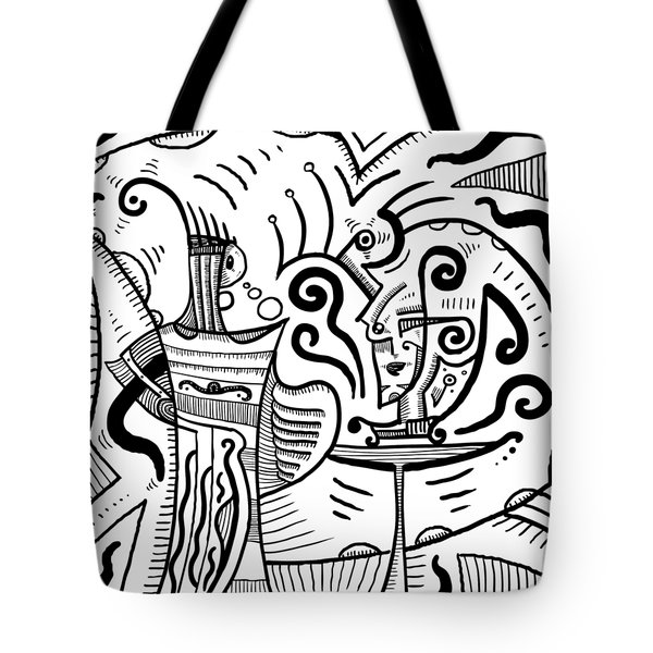 Mystical Powers - Surrealism Tote Bag