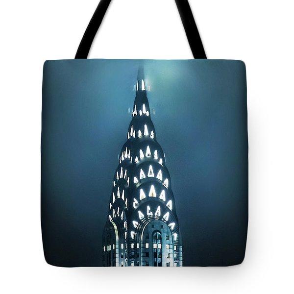 Mystical Spires Tote Bag by Az Jackson