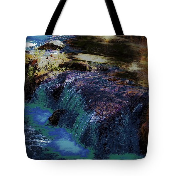Mystical Springs Tote Bag by DigiArt Diaries by Vicky B Fuller