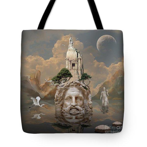 Tote Bag featuring the digital art Mystique by Alexa Szlavics