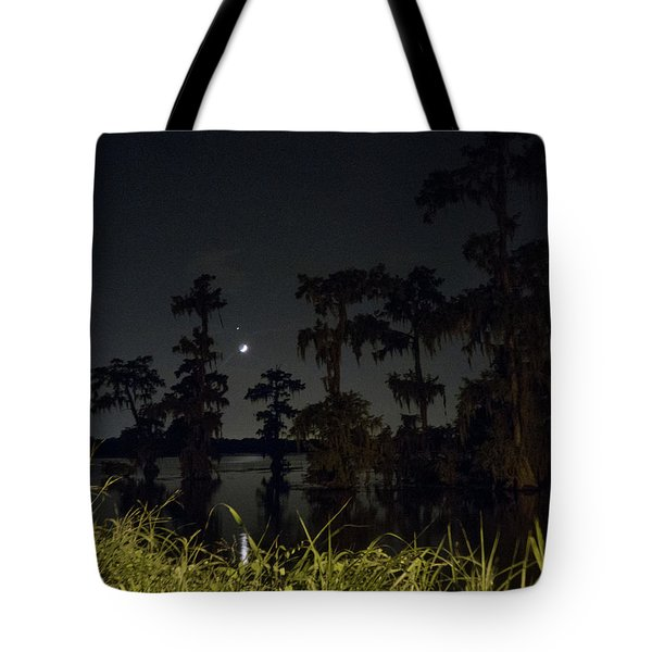 Mystique Of A Cajun Night Tote Bag
