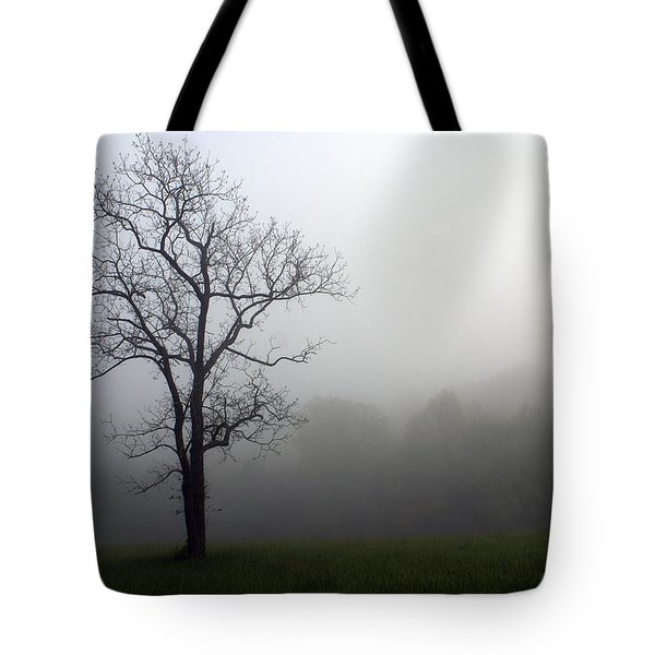 Mysty Tree Tote Bag by Marty Koch
