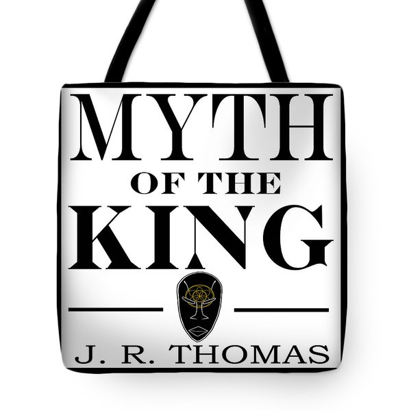 Tote Bag featuring the digital art Myth Of The King Cover by Jayvon Thomas