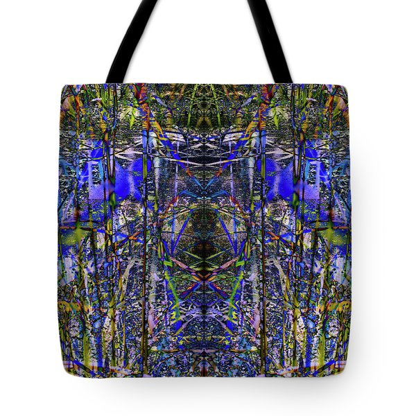 Winter Walk In The Weeds Tote Bag
