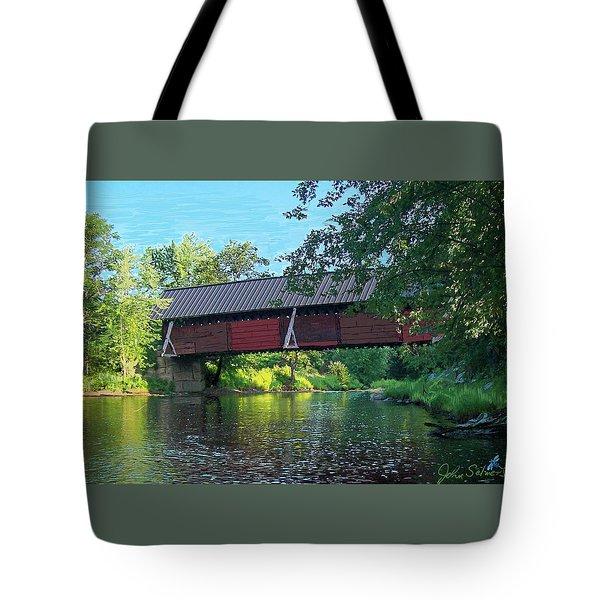 N. Troy Bridge Tote Bag