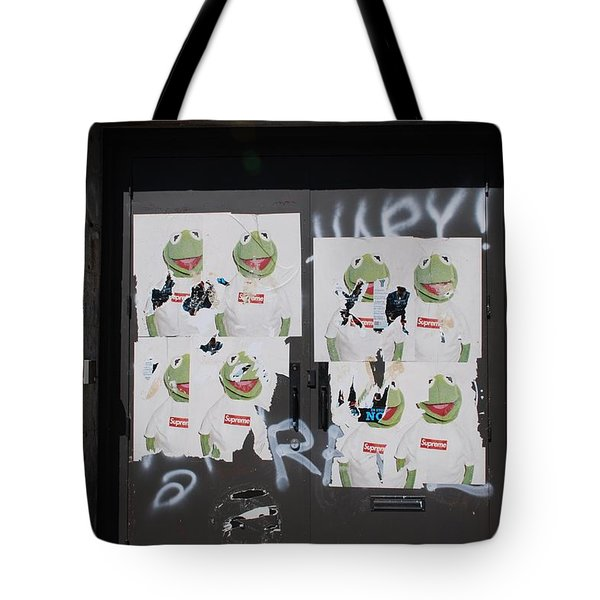 N Y C Kermit Tote Bag by Rob Hans