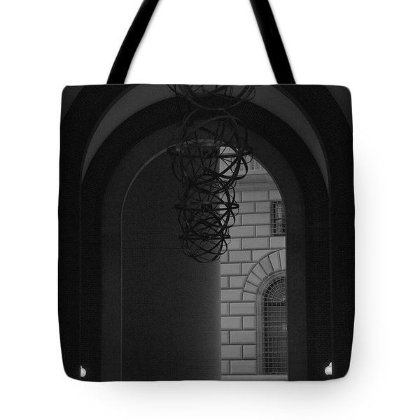 N Y C Lighted Arch Tote Bag by Rob Hans