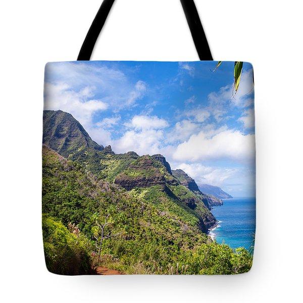 Na Pali Coast Kauai Tote Bag by Brian Harig