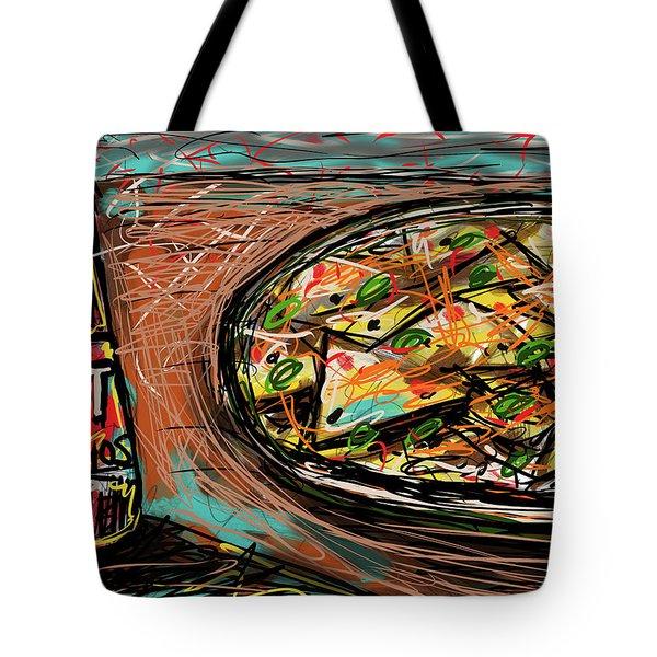 Tote Bag featuring the digital art Nachos by Joe Bloch
