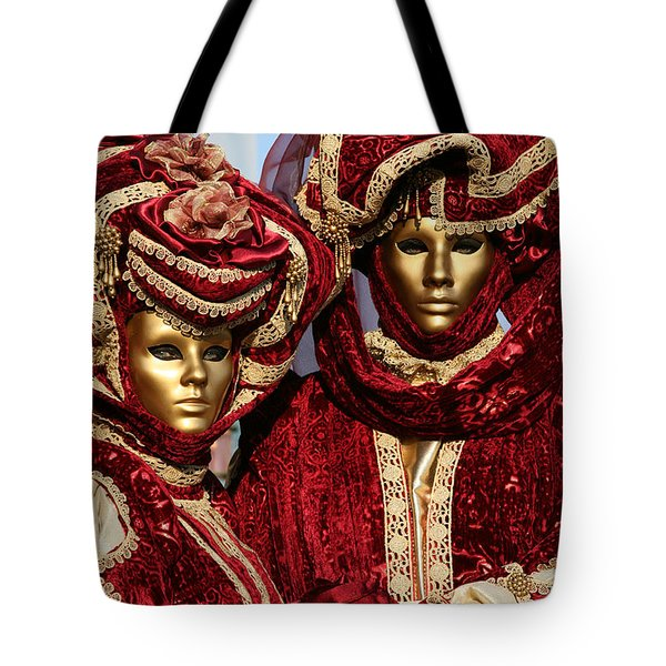 Nadine And Daniel In Red 2 Tote Bag