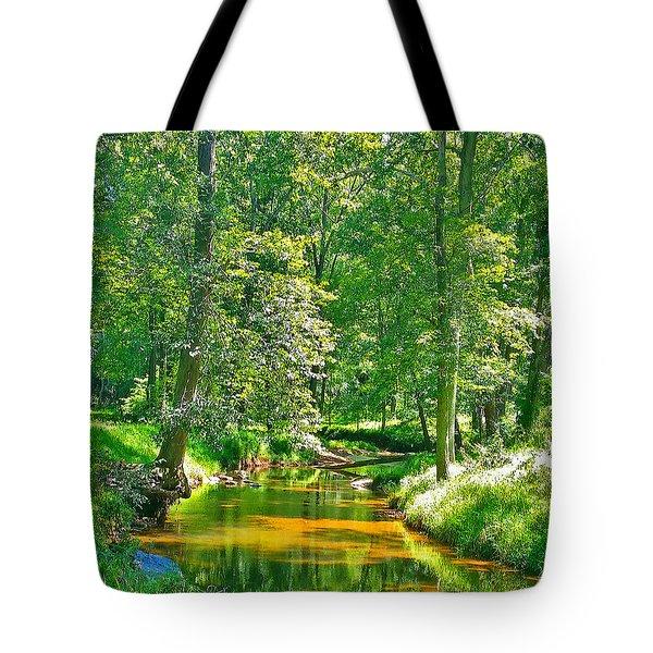 Nadine's Creek Tote Bag