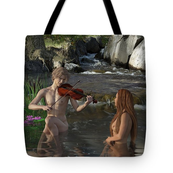 Naecken - The Nix Tote Bag by Andy Renard