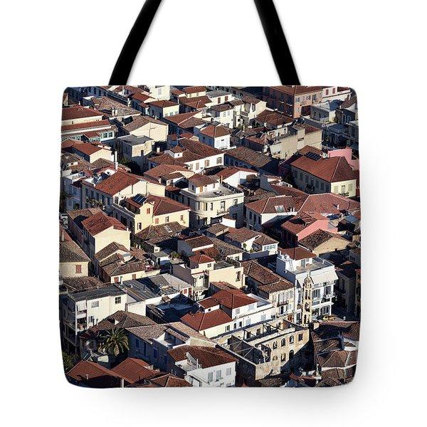 Nafplio Town Tote Bag