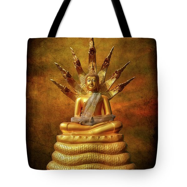 Tote Bag featuring the photograph Naga Buddha by Adrian Evans