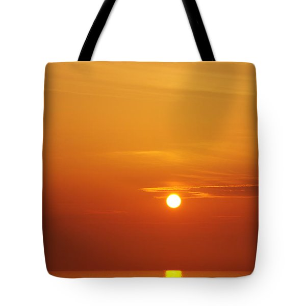 Nago Sunset Okinawa Japan Tote Bag