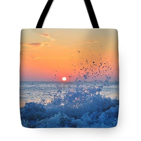 Nags Head Sunrise 7/15/16 Tote Bag