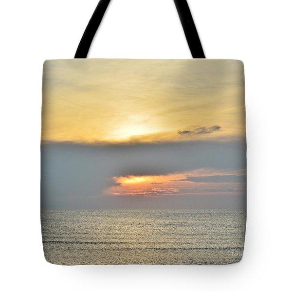 Nags Head Sunrise 7/24/16 Tote Bag