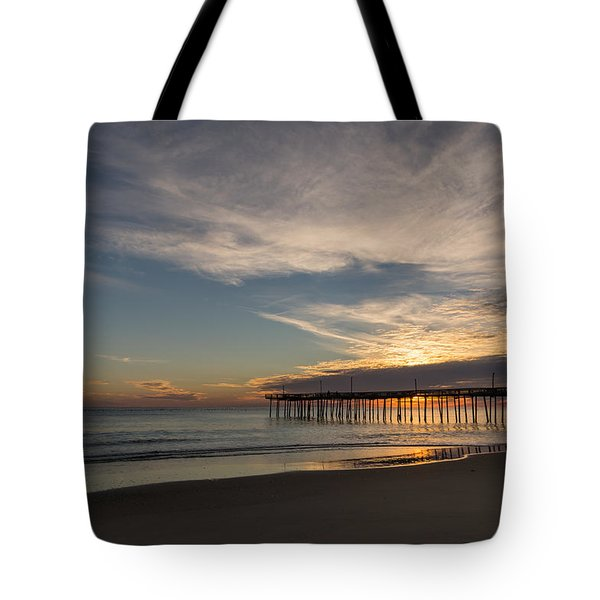 Nags Head Sunrise Tote Bag by Gregg Southard