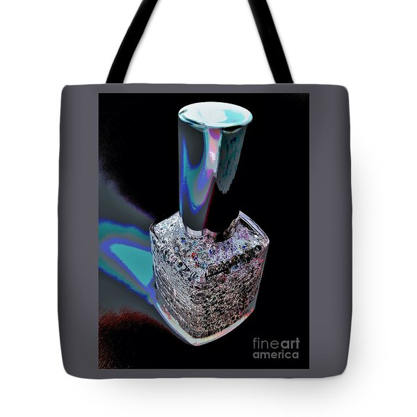 Nail Polish On The Stage Tote Bag by Jasna Gopic