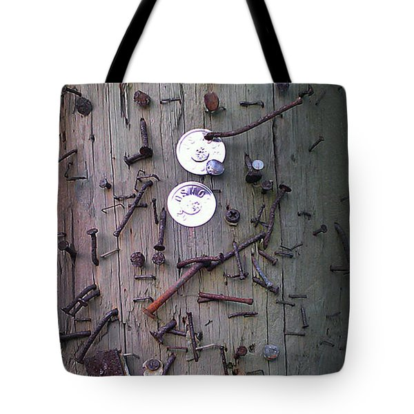 Nailed It Tote Bag by Steve Sperry
