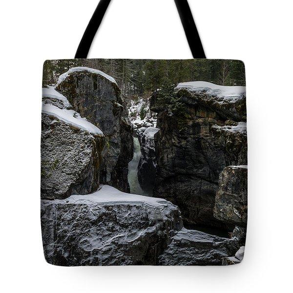 Nairn Falls, Winter Tote Bag