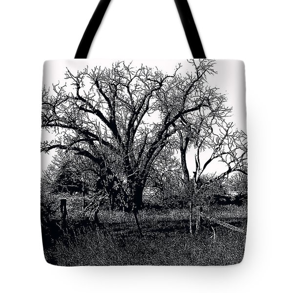 Naked Beauty Black And White Tote Bag
