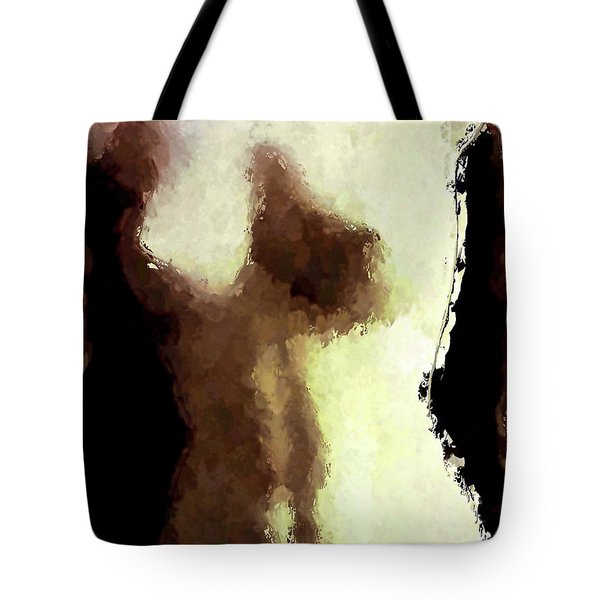 Naked Female Torso  Tote Bag
