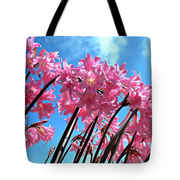 Naked Ladies Tote Bag