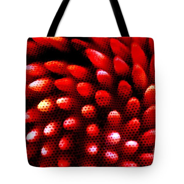 Naked Porcupine Tote Bag by Stephen Mitchell