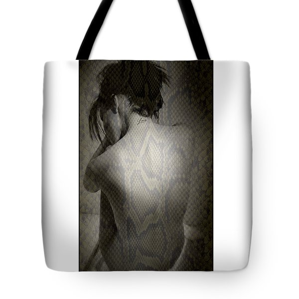 Naked Woman Tote Bag