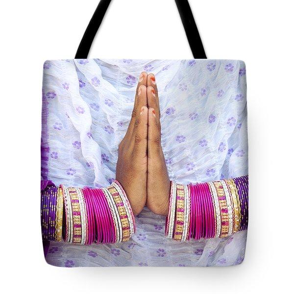 Namaskaram Tote Bag