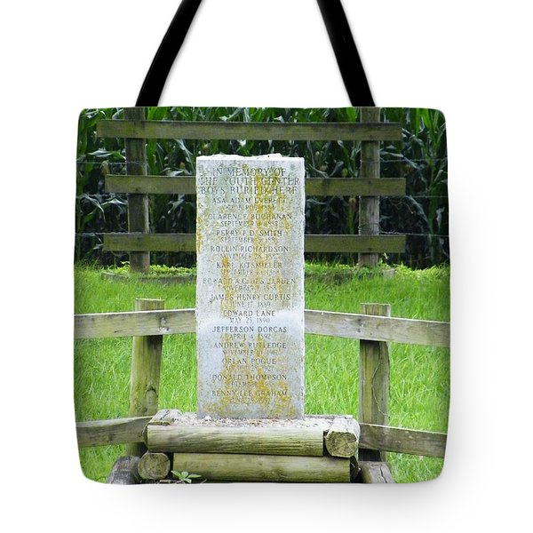 Name Marker In Youth Cemetery #3 Tote Bag by The GYPSY