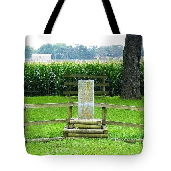 Name Marker In Youth Cemetery #1 Tote Bag by The GYPSY